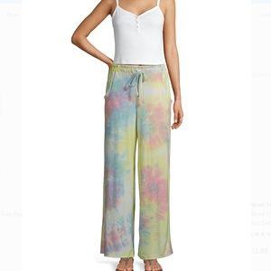 NWT Palazoo Tie-Dye Lounge Pants Medium